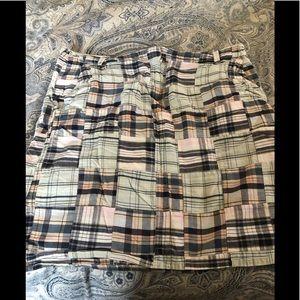 Madras style skirt